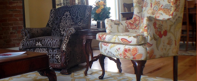 The Relevant Antique – Finding the Perfect Patterned Fabric for your Vintage Chair